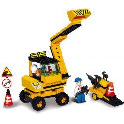 SLUBAN M38-B9600 B9600 9600 M38B9600 38-B9600 Xếp hình kiểu Lego Simulated City Excavator Máy Xúc 106 khối
