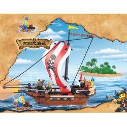 SLUBAN M38-B0279 B0279 0279 M38B0279 38-B0279 Xếp hình kiểu Lego Pirates Of The Caribbean Warrior Chiến Binh 226 khối