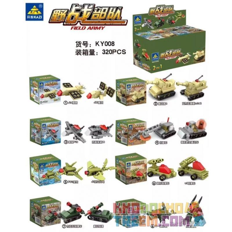Kazi KY008 KY008-1 008-1 KY008-2 008-2 KY008-3 008-3 KY008-4 008-4 KY008-5 008-5 KY008-6 008-6 KY008-7 008-7 KY008-8 008-8 Xếp hình kiểu Lego MINI MODULAR Field Army Wild Warfare Forces 8 8 Lực Lượng