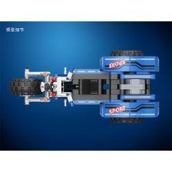 Winner 7081 Xếp hình kiểu Lego TECHNIC Three-wheeled Motorcycle Xe Ba Bánh 178 khối có động cơ kéo thả