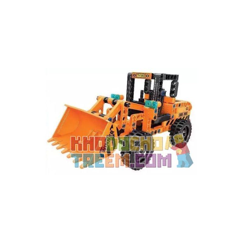 Winner 7086 Xếp hình kiểu Lego TECHNIC Loader Bộ Nạp Kéo Trở Lại 199 khối có động cơ kéo thả
