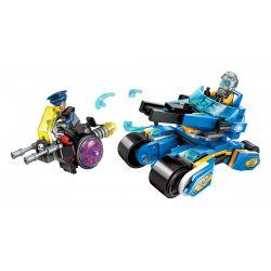 Enlighten 2705 Qman 2705 Xếp hình kiểu Lego THE HIGH-TECH ERA Technology Era I Glorious Chariot Chariot Vinh Quang 185 khối