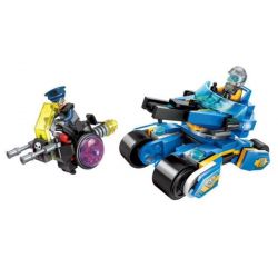 Enlighten 2705 Qman 2705 KEEPPLEY 2705 Xếp hình kiểu Lego THE HIGH-TECH ERA Technology Times I Brilliant Chariot 185 khối