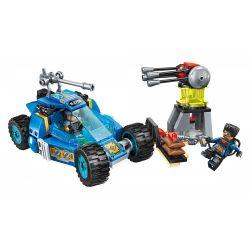 Enlighten 2706 Qman 2706 Xếp hình kiểu Lego THE HIGH-TECH ERA Technology Era I Armed Reconnaissance Vehicle Xe Trinh Sát Vũ Trang 191 khối