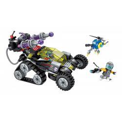Enlighten 2708 Qman 2708 KEEPPLEY 2708 Xếp hình kiểu Lego THE HIGH-TECH ERA Technology Times I Magnetic Storm Sniper Gun Súng Bắn Tỉa Bão Từ 203 khối