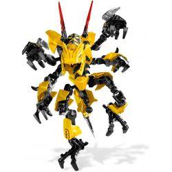 NOT Lego HERO FACTORY 2231 Waspix Hero Factory Poison Peak , Decool 9701 Jisi 9701 Xếp hình Waspix 48 khối
