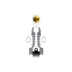 Decool 9688 Jisi 9688 Xếp hình kiểu Lego HERO FACTORY Rocka XL Hero Factory Loca Rocka XL 174 khối