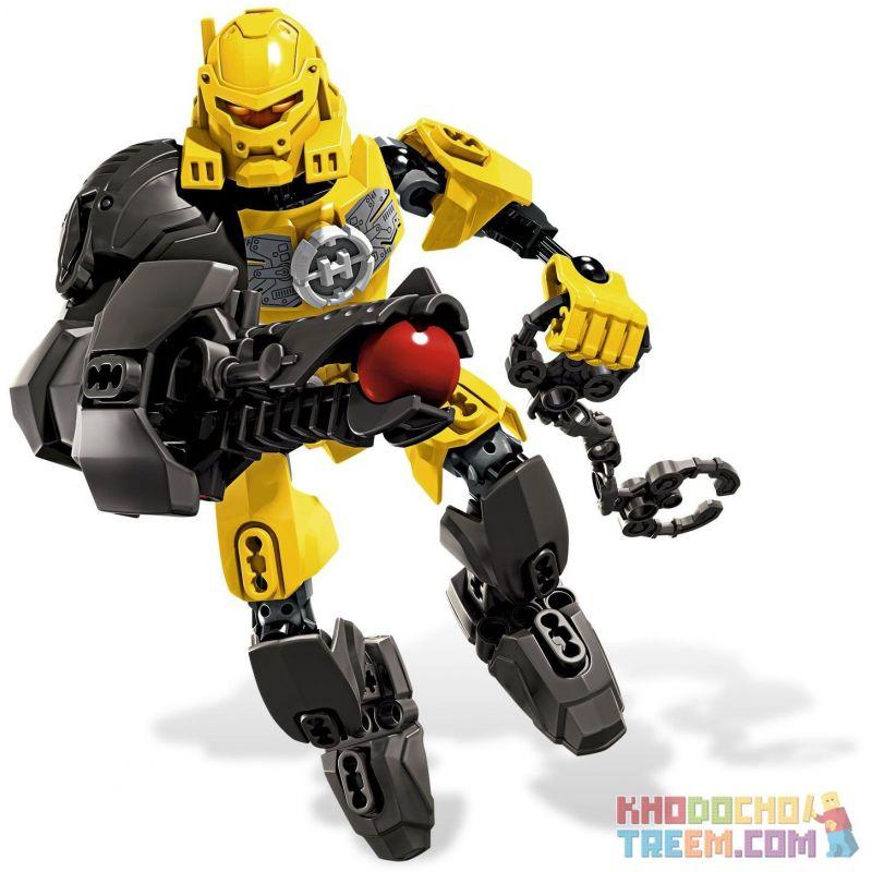 NOT Lego HERO FACTORY 6200-2 EVO, Decool 9803 Jisi 9803 XSZ KSZ 604 Xếp hình 36 khối