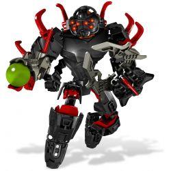 Decool 10101 Jisi 10101 Xếp hình kiểu Lego HERO FACTORY CORE HUNTER Hero Factory Kinetic Nuclear Hunter NGƯỜI SĂN CỐT LÕI 51 khối