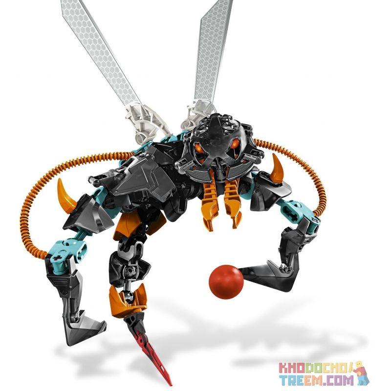 Decool 9801 Jisi 9801 Xếp hình kiểu Lego HERO FACTORY THORNRAXX Hero Factory Thorn Bee THORNRAXX 44 khối