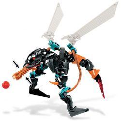 NOT Lego HERO FACTORY 6228 THORNRAXX Hero Factory Thorn Bee , Decool 9801 Jisi 9801 Xếp hình THORNRAXX 44 khối