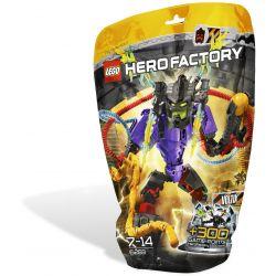 Decool 10103 Jisi 10103 Xếp hình kiểu Lego HERO FACTORY VOLTIX Hero Factory Volt Pressure VOLTIX 61 khối