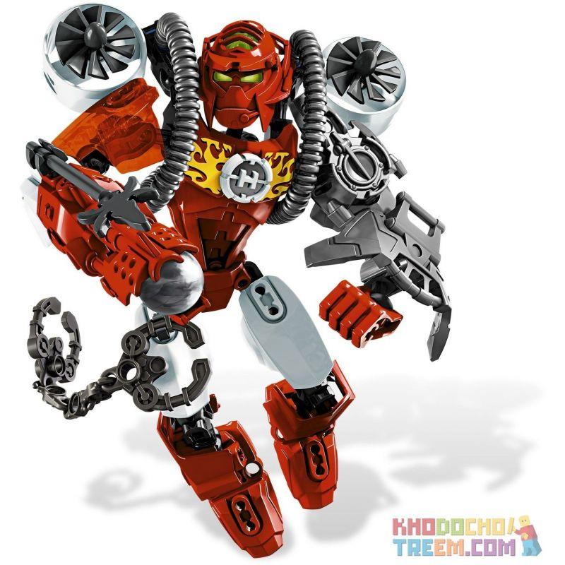 XSZ KSZ 804 Xếp hình kiểu Lego HERO FACTORY Furno Hero Factory Huaguang Furno 56 khối