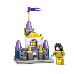 Kazi KY98709 98709 Xếp hình kiểu Lego FRIENDS Dream Gold Castle Four In One Lâu đài Vàng Tưởng Tượng Bốn Trong Một