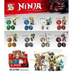 SHENG YUAN SY 690 SY690 SY690-1 690-1 SY690-2 690-2 SY690-3 690-3 SY690-4 690-4 SY690-5 690-5 SY690-6 690-6 SY690-7 690-7 SY690-8 690-8 Xếp hình kiểu THE LEGO NINJAGO MOVIE Ninja Thunder Swordsman Hun