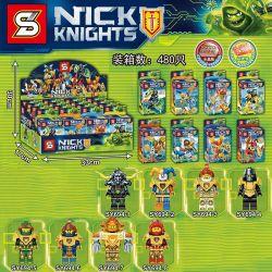 SHENG YUAN SY 694 SY694 SY694-1 694-1 SY694-2 694-2 SY694-3 694-3 SY694-4 694-4 SY694-5 694-5 SY694-6 694-6 SY694-7 694-7 SY694-8 694-8 Xếp hình kiểu Lego NEXO KNIGHTS Future Knight Group 8 Nhân Vật N