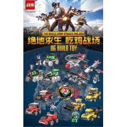 NOT Lego CREATOR 5761 Mini Digger, Decool 3134 Jisi 3134 JLB 3D113-4 LITTLE COMPANION 101 Xếp hình Máy đào mini 56 khối