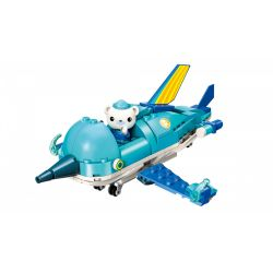 Enlighten 3702 Qman 3702 Xếp hình kiểu Lego OCTONAUTS Seabed Small Column Flagboat Thuyền Buồm 116 khối