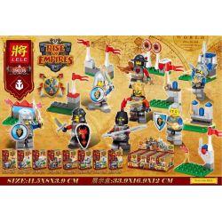 LELE 39035 Xếp hình kiểu Lego RISE OF EMPIRES Empire Rising People 8 Rise Of The Empire 8 Minifigures 201 khối