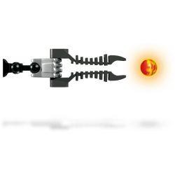 Decool 9566 Jisi 9566 Xếp hình kiểu Lego HERO FACTORY Fire Lord Hero Factory King Of Flame Chúa Lửa 125 khối