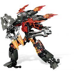 NOT Lego HERO FACTORY 2235 Fire Lord Hero Factory King Of Flame , Decool 9566 Jisi 9566 Xếp hình Chúa Lửa 125 khối