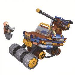 Winner 8039 Xếp hình kiểu Lego THE AGE OF STEAM SteamAge The Steam Mustang Chariot Steampunk Era Steam Wild Horse Xe Hơi Mustang 237 khối