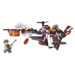 Winner 8044 Xếp hình kiểu Lego THE AGE OF STEAM SteamAge The Steam Fighter Steampunk Era Steam Guard Guard? Người Bảo Vệ Hơi Nước? 126 khối