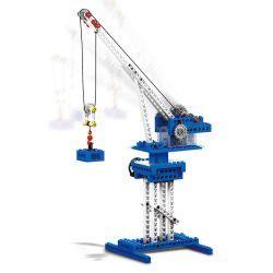 WANGE DR.LUCK 1402 Xếp hình kiểu Lego MINDSTORMS Power Machinsry Crane、Catapul、Caterpillars、Weight Lifting Machine Power Machinery Crane, Stone Car, Caterpillar, Gravity Vehicle Cần Trục, Máy Phóng, S