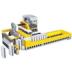 WANGE DR.LUCK 1405 Xếp hình kiểu Lego MINDSTORMS Power Machinsry Dominoes Machine、Lunar Rover、Windmil、Balance Power Machinery Domino, Moon, Windmill, Balance Máy Domino, Xe Mặt Trăng, Cối Xay Gió, Cân