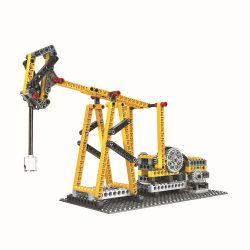 WANGE DR.LUCK 1406 Xếp hình kiểu Lego MINDSTORMS Power Machinsry Beam Pumping Unit、Suspension Bridge、Pirate Ship、Sewing Machine Power Machinery Beam Pumping Machine, Suspension Bridge, Pirate Ship, Se