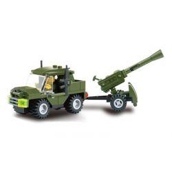 Kazi KY6041 6041 Xếp hình kiểu Lego FIELD ARMY Field Army Cannon Field Troops Pháo 93 khối
