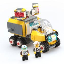 WANGE 3669 Xếp hình kiểu Lego ADVANCED MILITARY Missile Armoured Vehicle Superfine Military Missile Armored Vehicle Xe Bọc Thép Tên Lửa 294 khối