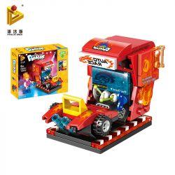 PanlosBrick 692001 Panlos Brick 692001 Xếp hình kiểu Lego Paradise 3D Dynamic Racing Car Đua Xe động 3D 108 khối