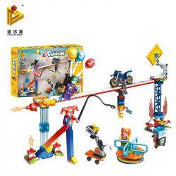 PanlosBrick 692005 Panlos Brick 692005 Xếp hình kiểu Lego Paradise Wire Performance Group Nhóm Hiệu Suất Dây 298 khối
