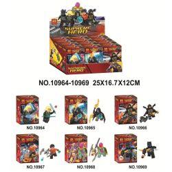 Bela 10964 10965 10966 10967 10968 10969 Lari 10964 10965 10966 10967 10968 10969 Xếp hình kiểu Lego SUPER HEROES Avengers Minifigure 6 Avengers minifigure 6 gồm 6 hộp nhỏ