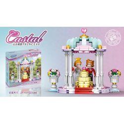 XINGBAO XB-12021 12021 XB12021 Xếp hình kiểu Lego CASTAL PRINCESS Castal Peincess Wedding Scene Princess Castle Cảnh đám Cưới 193 khối