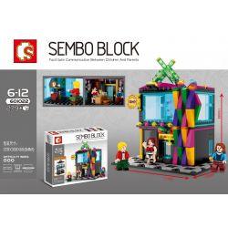 SHENG YUAN SY 601022 Xếp hình kiểu Lego MINI MODULAR Nightclub câu lạc bộ đêm 279 khối