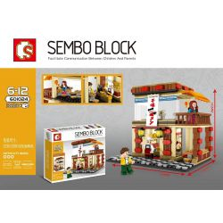 SHENG YUAN SY 601024 Xếp hình kiểu Lego MINI MODULAR Ajisen Ramen 365 khối