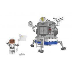 XINGBAO XB-16001 16001 XB16001 Xếp hình kiểu Lego Space Exploration Moon Hạ Cánh Lên Mặt Trăng 236 khối