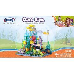 XINGBAO XB-12013 12013 XB12013 Xếp hình kiểu Lego CityGirl Deep Sea Diving City Girl Lặn Biển Sâu 203 khối