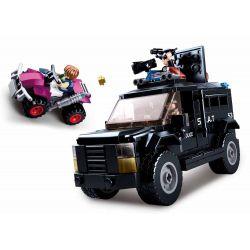 SLUBAN M38-B0653 B0653 0653 M38B0653 38-B0653 Xếp hình kiểu Lego Armored Assault Vehicle All Police Dispatched Special Armored Assault Truck Xe Tấn Công Bọc Thép đặc Biệt 293 khối