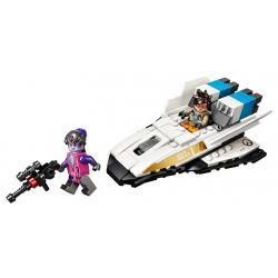 NOT Lego OVERWATCH 75970 Tracer Vs. Widowmaker, LEPIN 50001 Xếp hình Tracer vs. Widowmaker 129 khối