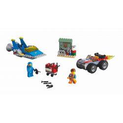"LARI 11243 LEPIN 45001 Xếp hình kiểu THE LEGO MOVIE 2 THE SECOND PART Emmet And Benny's 'Build And Fix' Workshop! Lego Movie 2 Emyrt And Benny's ""Construction And Repair"" Studio Hội Thảo 'Xây Dựng Và"
