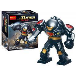 Decool 0313 Jisi 0313 Xếp hình kiểu Lego SUPER HEROES Black Anti-Hulk Black · Antharm Đen · Anthake.