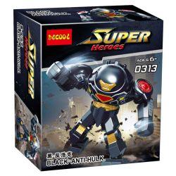Decool 0313 Jisi 0313 Xếp hình kiểu Lego SUPER HEROES Black Anti-Hulk
