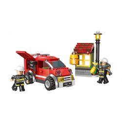 XINGBAO XB-14001 14001 XB14001 Xếp hình kiểu Lego FIRE RESCURE Fire Fighting Exterminate The Honeycomb City Fire Brigade Eliminate Honeycomb Loại Bỏ Tổ Ong 218 khối