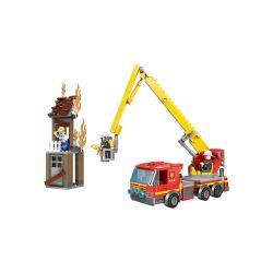 XINGBAO XB-14002 14002 XB14002 Xếp hình kiểu Lego FIRE RESCURE Fire Fighting Rescue Of High Buildings City Fire Brigade High-rise Rescue Cứu Hộ Nhà Cao Tầng