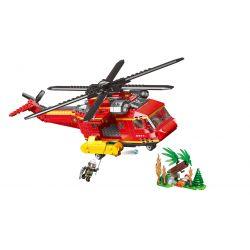 XINGBAO XB-14004 14004 XB14004 Xếp hình kiểu Lego FIRE RESCURE Fire Fighting Forest Disaster Relief City Fire Brigade Cứu Trợ Thảm Họa Rừng