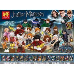 LELE 39171 Xếp hình kiểu Lego HARRY POTTER Harry Potter People Big Collection 16 Bộ Sưu Tập Harry Potter Minifigure 16 Mô Hình