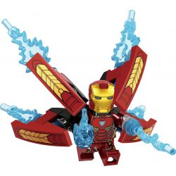 LELE 34044 Xếp hình kiểu Lego SUPER HEROES Heroes Gathering Avengers League 3 Role Human Collection 16 Bộ Sưu Tập 16 Mô Hình Nhân Vật Avengers 3